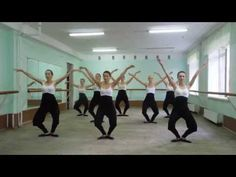 Экзамен по современной хореографии 2 курс 1 часть - YouTube