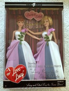 Barbie I LOVE LUCY Lucy and Ethel Buy The Same Dress - EPISODE 69 Mattel NEW #Mattel