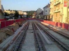 les travaux du tramway de besancon 2010 a 2014