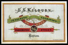yeah, Victorian business cards again