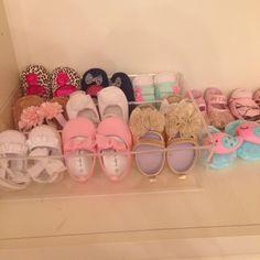Diy baby shoe rack! Just use a plastic drawer organizer!   babystufforganization Organizing Baby 2e83a4be4