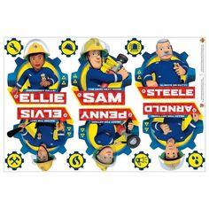 Wandtattoo »Feuerwehrmann Sam - Team« - Products - #Feuerwehrmann #Products #Sam #Team #Wandtattoo Fireman Sam, Original Tattoos, Wall Decals, Disney Characters, Fictional Characters, Health, Amigurumi, House, Health Care
