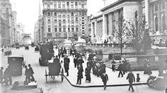La #Bibliotecapubblica di #NewYork nel 1908. #photo #vintage #fotografia #StatiUniti #Usa #biancoenero