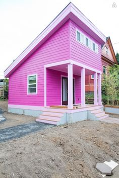 Pink Tiny Home in Portland