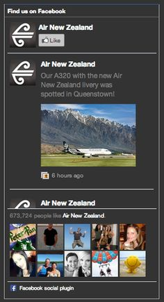 Find Us On Facebook, Facebook Likes, Air New Zealand, Fans, Social Media, Website, Box, Snare Drum, Social Networks