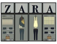 Zara Planograma Shoe Store Design, Clothing Store Design, Retail Store Design, Boutique Interior, Boutique Design, Visual Merchandising Fashion, Retail Merchandising, Clothing Store Displays, Store Layout