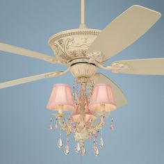 27 best ceiling fans images on pinterest blankets ceilings and 60 casa vieja montego pretty in pink light kit ceiling fan aloadofball Image collections