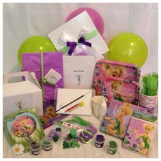 TinkerBell Themed Birthday Party Box