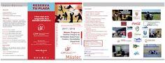Abierto plazo preinscripción  +info: Tel: 954 556 167 617 098 569  mail: mastered@us.es  @masteredUS @unisevilla @CFP_unisevilla @ftfsevilla
