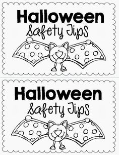 halloween safety tips from joy berrys taking the scary out of halloween halloween activites pinterest scary - Halloween Safety Printables