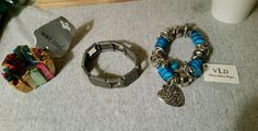 BRACELETS LOT OF 3 WET SEAL VLD AND PEWTER in Jewelry & Watches, Fashion Jewelry, Mixed Items & Lots | eBay