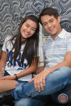 Everyday I Love You set visit with Liza Soberano, Enrique Gil and Gerald Anderson Enrique Gil, Liza Soberano, Filipina Beauty, Cutest Couples, I Love You, My Love, Jadine, Pinoy, Philippines