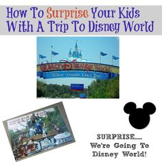 Tips for creating a surprise for the trip of a lifetime!