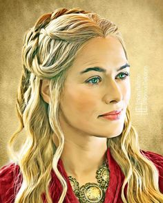 Cersei Lannister | Game of Thrones - by Hilary Heffron, Hilarious Delusions