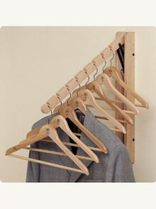 The Elephant wall hanger rack by Foppapedretti is useful in wardrobes and walk-in closets for hanging your clothes. Hanger Rack, Wall Hanger, Clothes Rail, Clothes Hanger, Chemical Free Cleaning, Boutique Decor, Small Closets, Wooden Hangers, Wardrobe Design