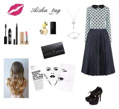 """""""▫️▫️▫️"""" by aisha-tag ❤ liked on Polyvore featuring Oasis, J.W. Anderson, Chanel, Tiffany & Co., Marc by Marc Jacobs, Rouge Bunny Rouge, Marc Jacobs and NARS Cosmetics"""