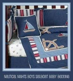 Nautical Baby Nursery Crib Sets, Accessories And Baby Furniture