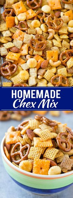 Homemade Chex Mix Recipe | Snack Mix | Party Mix | Chex Mix Recipe | Microwave Chex Mix #chex #chexmix #snacks #dinneratthezoo #party #partymix