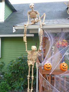 skeleton limbo halloween pinterest skeletons and halloween ideas - Skeleton Decorations