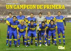 Boca Campeón invicto 2011
