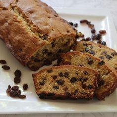 Cake d'automne aux raisins secs