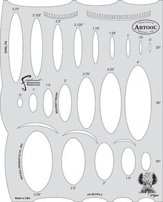 blasted fx airbrush template oval