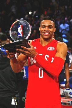 2016 NBA All-Star MVP  Russell Westbrook (First... - NBA da236182f