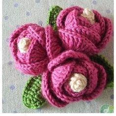 easy_do #crochet flowers