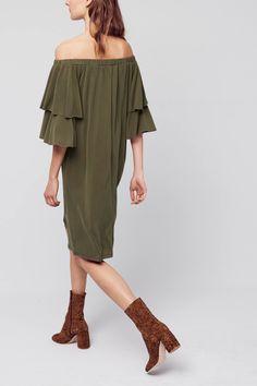 Slide View: 4: Radcliff Off-The-Shoulder Dress