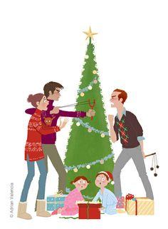 Iℓℓustⓡᗩtions Adrian Valencia Draw Adrian, Draw!: Happy Christmas Everyone!