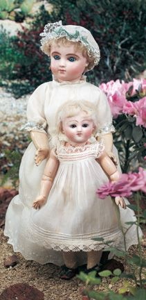 """Theriault's - 10"""" Early Bebe Steiner from Au Nain Bleu, c 1880"""