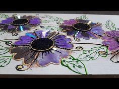 Vídeo extra com DVD´s e indicações de canais na descrição - YouTube Cd Crafts, Diy Home Crafts, Recycled Crafts, Creative Crafts, Handmade Crafts, Arts And Crafts, Paper Crafts, Aluminum Can Flowers, Peacock Crafts