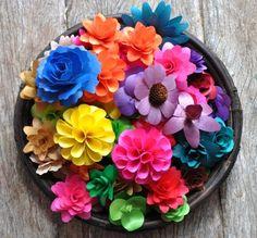 Wooden Flowers made of Birch wood Shavings- 100 Assorted Flowers via AccentsandPetals Wood Flowers, Paper Flowers Wedding, Faux Flowers, Painted Flowers, Wedding Bouquets, Floral Centerpieces, Floral Arrangements, Centerpiece Ideas, Wooden Tags