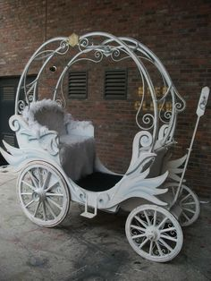 I chose this because a carriage is needed in the play and also needs to be usable. This one helps show some design concepts I could use like the chair and the pieces going over the top of the carriage.
