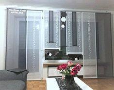 Moderne kreative Gardinen individuellen by GARDINANWELTANGELINA Sliding Curtains, How To Make Curtains, Curtain Sets, Window Coverings, Oversized Mirror, Vanity, Windows, Furniture, Home Decor
