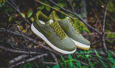 "Nike Air Force 1 '07 LV8 ""Militia Green"""