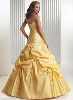 Belle dress...could totally see this as someone's wedding dress haha