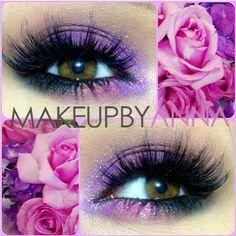 Purple pink and dark blue/black