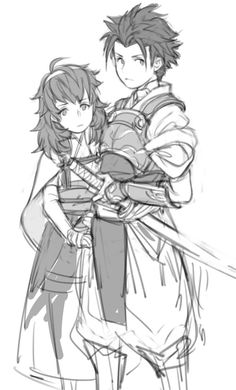 Fire Emblem Fates- Little Ryoma and Hinoka