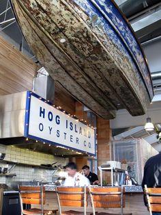 Hog Island Oyster Company Napa Oyster Bar, Oxbow Public Market, 610 First Street, Napa, California