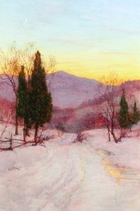 The Moonlight at Twilight - Walter Launt Palmer - The Athenaeum