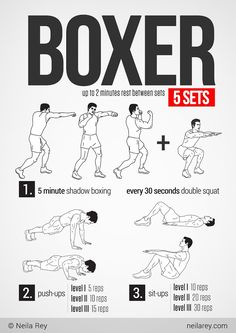 Boxer Workout by Neila Rey