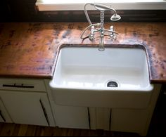 Copper Countertops: Would You Do It? Countertop Spotlight (wish I was rich so I could redo my kitchen!)