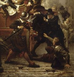 Arrest of Ravaillac after the assassination of King Henri IV of France, French War of Religions