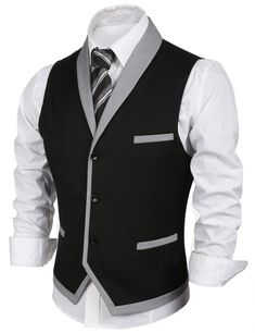 men's fashion style outfit rids tips and men's fashion advices hsen mn Stylish Mens Outfits, Cool Outfits, Casual Outfits, Mens Suit Vest, Mens Suits, Wedding Vest, Gilet Costume, Dress Suits For Men, Formal Men Outfit
