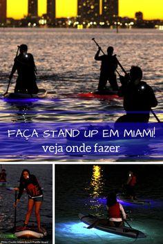 Faça Stand-up em Miami Veja Onde Fazer - Make Stand-up in Miami - see where to do it.