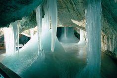 Demenovska ice cave, Slovakia (Деменовская ледяная пещера)