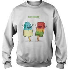 Bff Best Friends Sweatshirts - Bff Shirs - Bff Hoodies - One of the most beautiful qualities of true friendship is to understand and to be understood. Bff Sweatshirts, Friends Sweatshirt, Bff Shirts, Hoodies, Friend Friendship, Friendship Quotes, Best Friend T Shirts, Mode Blog, Birthday Gifts For Best Friend
