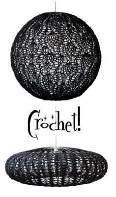 NIce black lace? lamp