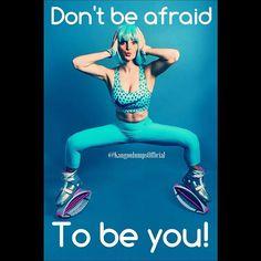 #wednesdaywisdom don't #BeAfraid to #beyou! Photo credit: @lizahazan #havefungettingfit #fitness #motivate #wow #workoutwednesday #life #love #nike #nikegirl #discoveryourself #kangoojumps #kangoo #jumps #health #healthyliving #livelife #wcw #womencrushwe